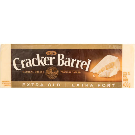 Cracker Barrel Extra Old White Cheddar Cheese (400 g)