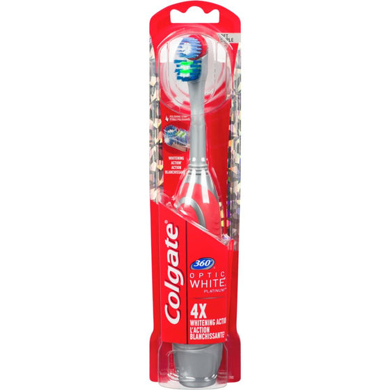 Colgate 360 Optic White Toothbrush, Soft