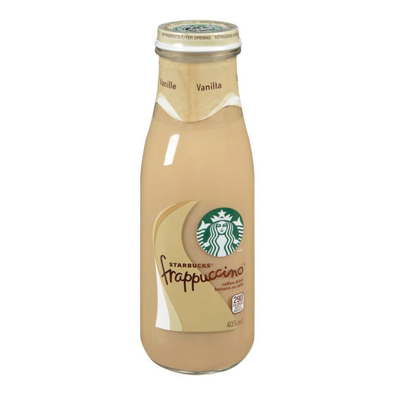 Starbucks Frappuccino Vanilla Coffee Drink (405 mL)