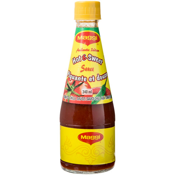 Maggi Hot & Sweet Tomato Chili Sauce (340 mL)