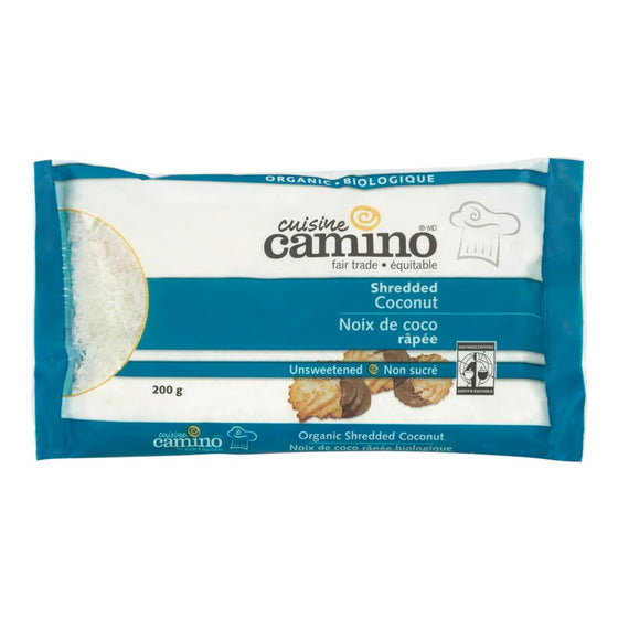 Camino Organic Unsweetened Shredded Coconut (200 g)