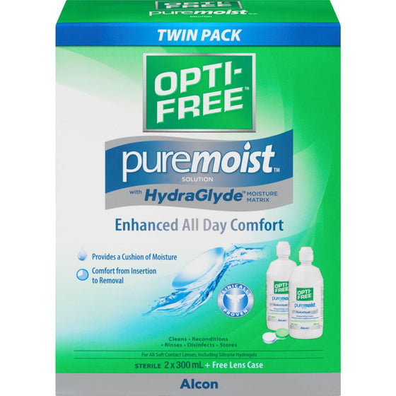 Opti-Free Puremoist Solution (600 mL)
