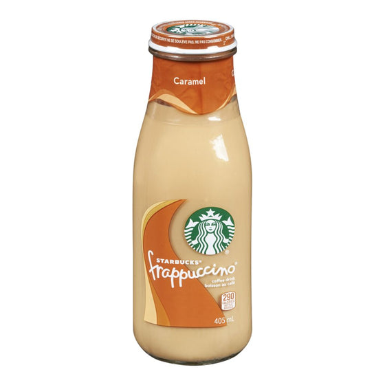 Starbucks Frappuccino Caramel Coffee Drink (405 mL)