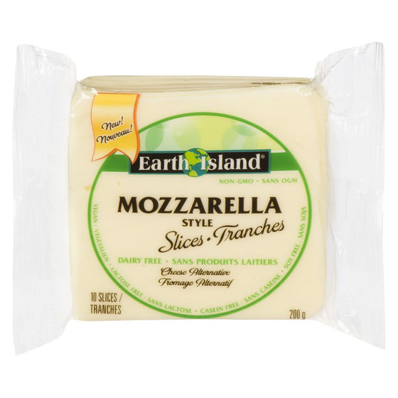 Earth Island Mozzarella Slices (200 g)