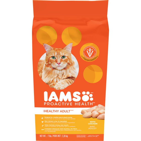 Proactive Health Healthy Adult Original with Chicken Dry Cat Food (3.18 kg)