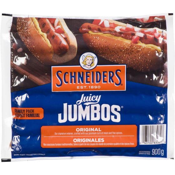 Schneider Juicy Jumbo Original Wieners (900g)
