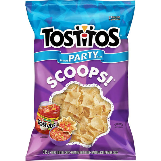 Tostitos Tortilla Chips, Scoops! (335 g)