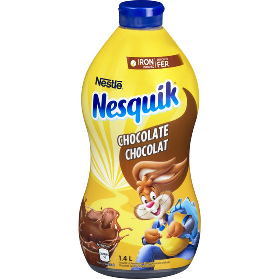 Nesquik Chocolate Syrup, Iron Enriched (1.4 L)