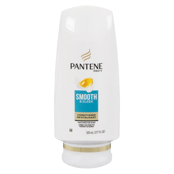 Pantene Smooth & Sleek Conditioner (525 mL)