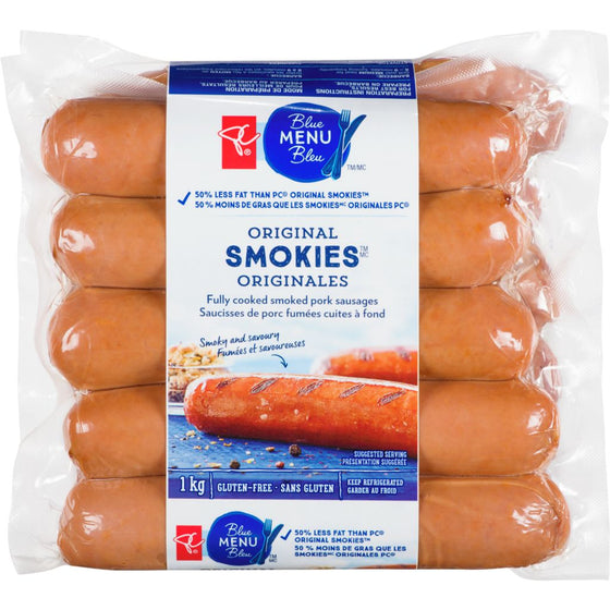 PC Blue Menu Original Smokies (1kg)