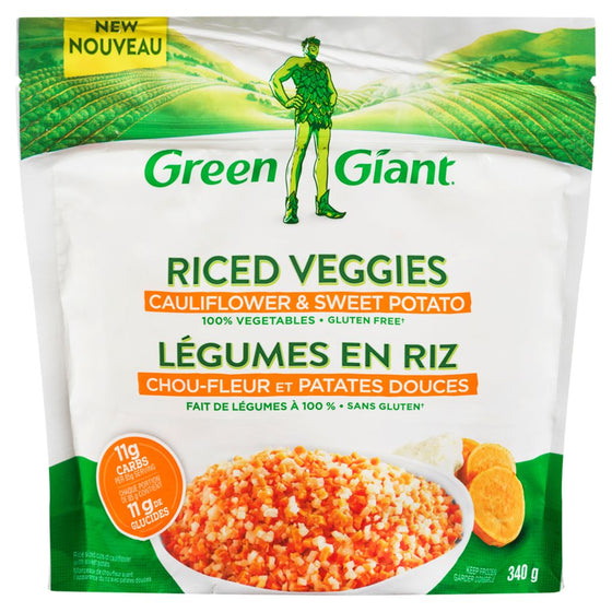 Green Giant Cauliflower & Sweet Potato Riced Veggies (340 g)