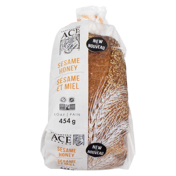 Ace Sesame Honey Bread Sliced (454 g)