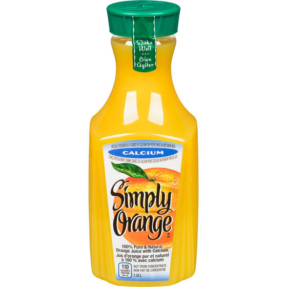 Simply Orange with Calcium (1.54 L)