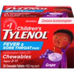 TylenolChildren's Fever & Pain, Chewable