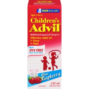 Children's Advil Suspension Blue (230 mL)