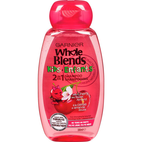 Garnier Kids Shampoo, Cherry (250 mL)