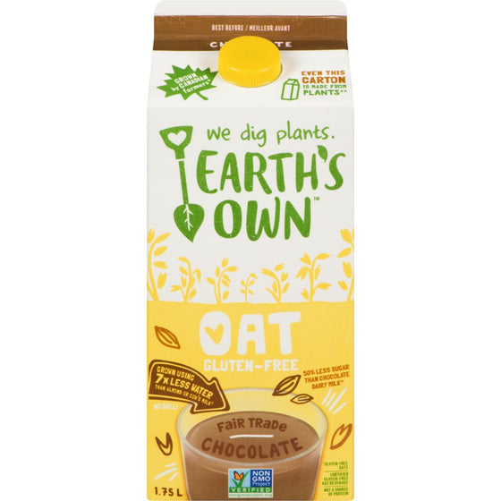 Earth's Own Oat Chocolate Gable (1.75 L)