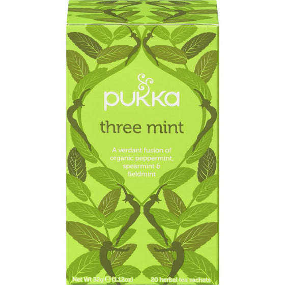 Pukka Three Mint Tea (20 each)