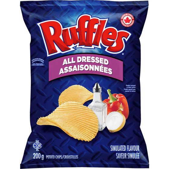 Ruffles All Dressed Potato Chips (200 g)