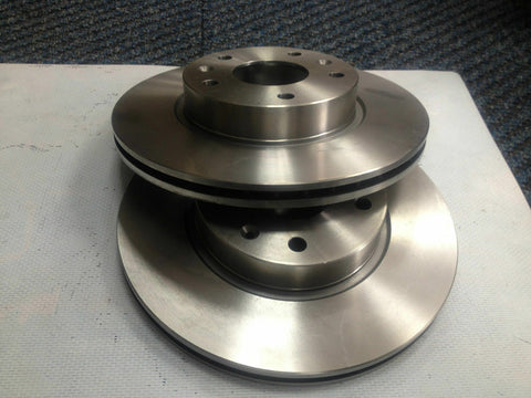 CITROEN DS3 1.6 e-HDi (A55) FRONT BRAKE DISCS AND BRAKE PADS