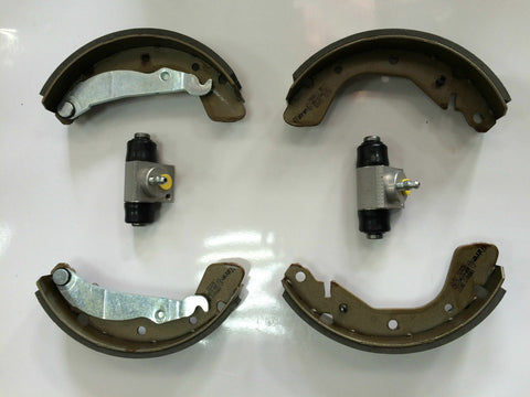 VAUXHALL CORSA C REAR BRAKE SHOES SET + 2 X WHEEL CYLINDERS WITH ABS NEW!!