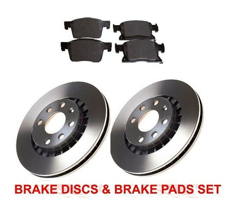 VAUXHALL ASTRA K 1.6 CDTi FRONT PREMIUM  BRAKE DISCS AND PADS 300mm PAGID & APEC