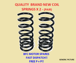 VW GOLF MK5 2.0 GT TDI FRONT COIL SPRINGS PAIR 2003-2011 (SPORT SUSPENSION ONLY)