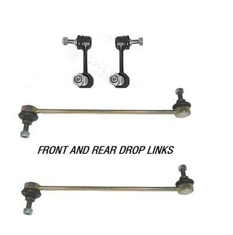 FIAT PANDA MK2 1.2 1.3JTD 4X4 FRONT & REAR ANTI-ROLL BAR LINKS ROD PAIR