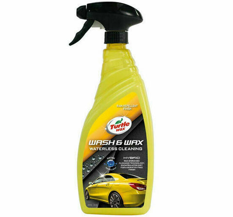 TURTLE WAX HYBRID WATERLESS WASH & WAX 750ML