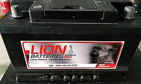 CAR BATTERY TYPE 100 (FITS MORE THAN ONE VECHICLE) 12V 70Ah