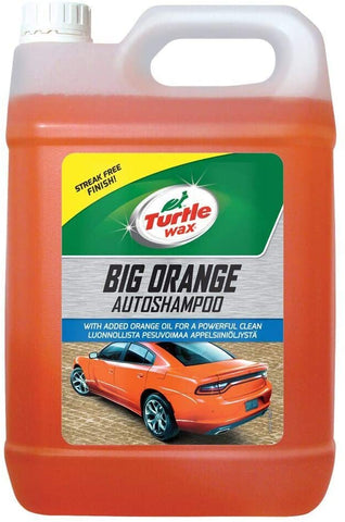 Turtle Wax Big Orange Auto Shampoo 5 Litre