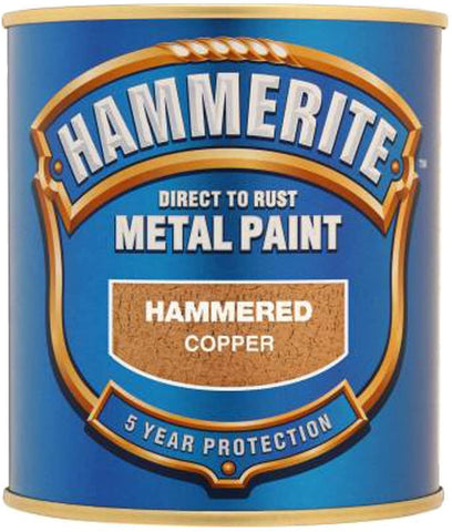 Hammerite Hammered Copper Metal Paint 250ml