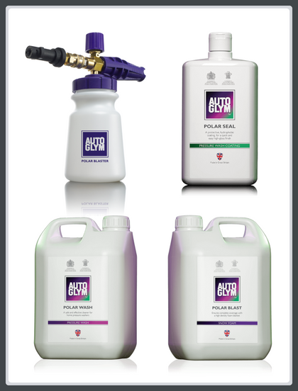 Autoglym Polar Series Bundle - Polar Blast, Wash, Seal & Blaster