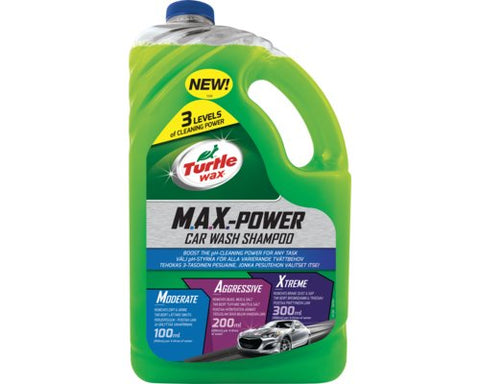 Turtle Wax MAX Power Car Wash Shampoo 2.95 Litre