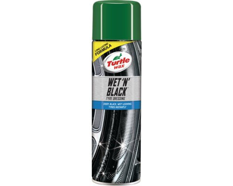 Turtle Wax Wet 'n' Black