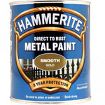 Hammerite MTL. PAINT SMOOTH GOLD 750ML