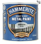 Hammerite 572 SMOOTH METAL PAINT SILVER 2.5L