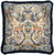 17TH CENTURY MODERN SKULL CUSHION | BLUE WITH BLUE FRINGE