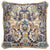 17TH CENTURY MODERN SKULL CUSHION | BLUE WITH GOLD FRINGE