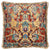 17TH CENTURY MODERN SKULL CUSHION | RED WITH GOLD FRINGE