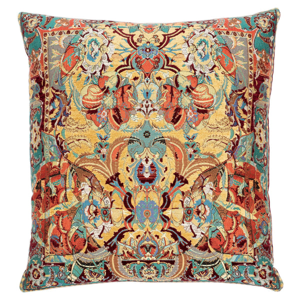 17TH CENTURY MODERN SKULL CUSHION | RED