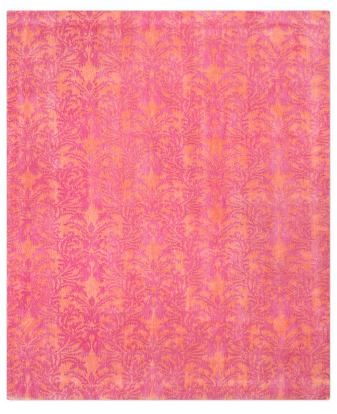 IKAT ROYAL DAMASK | ORANGE PINK