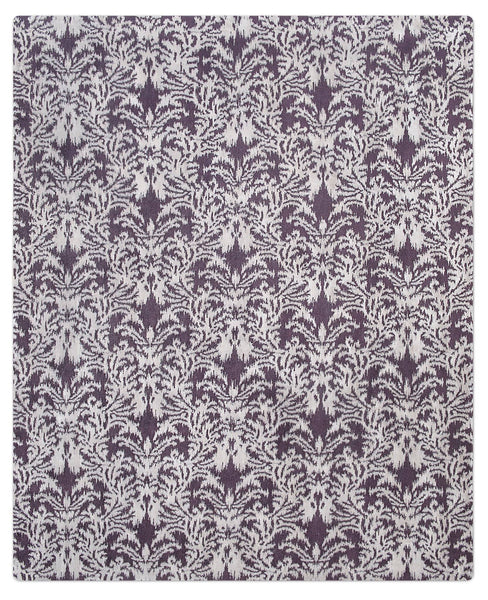 IKAT ROYAL DAMASK | SILVER PURPLE