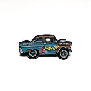 Leen Customs X Lamley Pin-Up Gasser Pin (1 of 500)