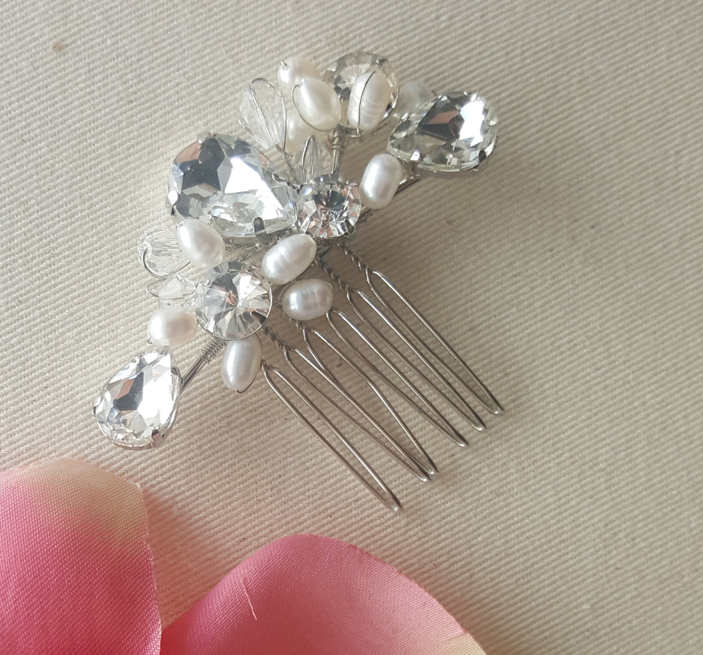 Maddie Silver Comb