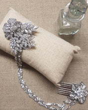 Load image into Gallery viewer, Sienna Silver and Crystal Drape