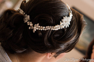 Kate Silver and Pearl Hair Drape