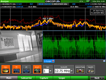 Load image into Gallery viewer, OSCOR™ Blue 24G Spectrum Analyzer