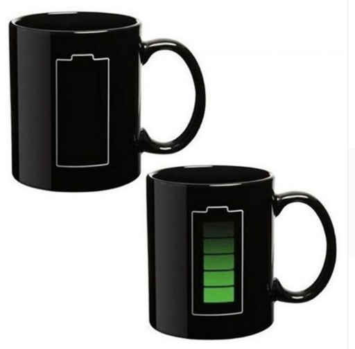 Battery level display Mug