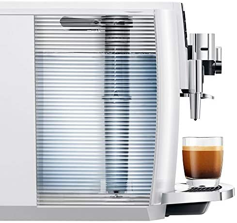 Jura E8 Coffee Machine 15341 Piano White